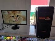 срочно продам новый игровой компьютер core i5 ,  монитор Benq 22 Состоя